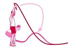 Battle ropes clipart