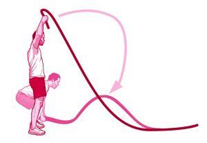Battle ropes clipart